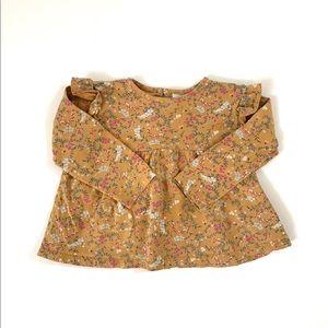 Zara Baby Girl Floral Top